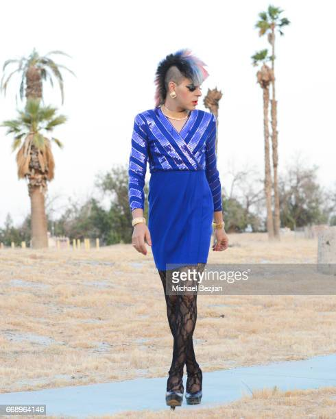 Pop Artist Sham Ibrahim is seen on April 15 2017 in Indio California