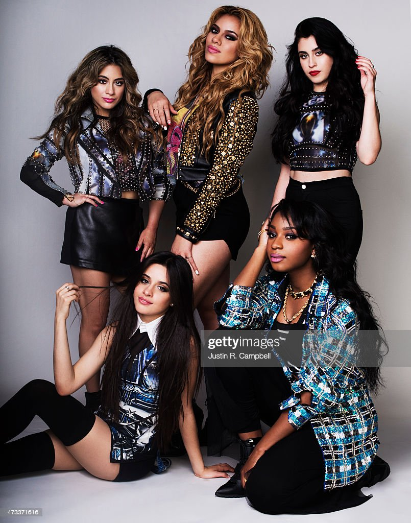 Pop band Fifth Harmony poses for a portrait at the Radio Disney Awards for Just Jared on April 25, 2015 in Los Angeles, California.