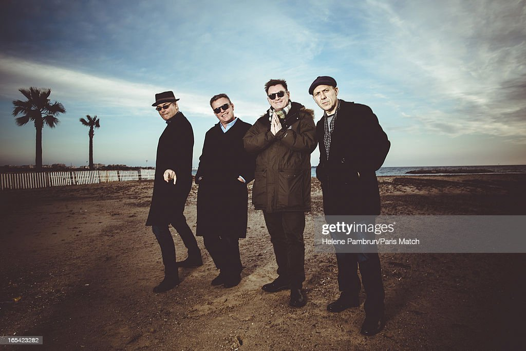 Pop band Madness are photographed for Paris Match on January 26, 2013 in Cannes, France.