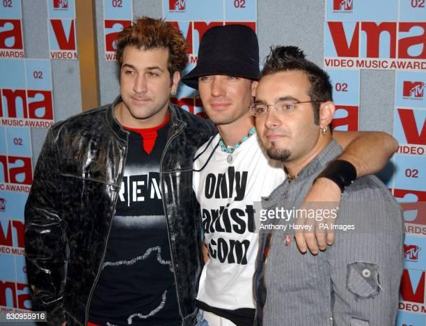 Pop band NSYNC during the MTV Video Music Awards Radio City Music Hall New York USAnsync