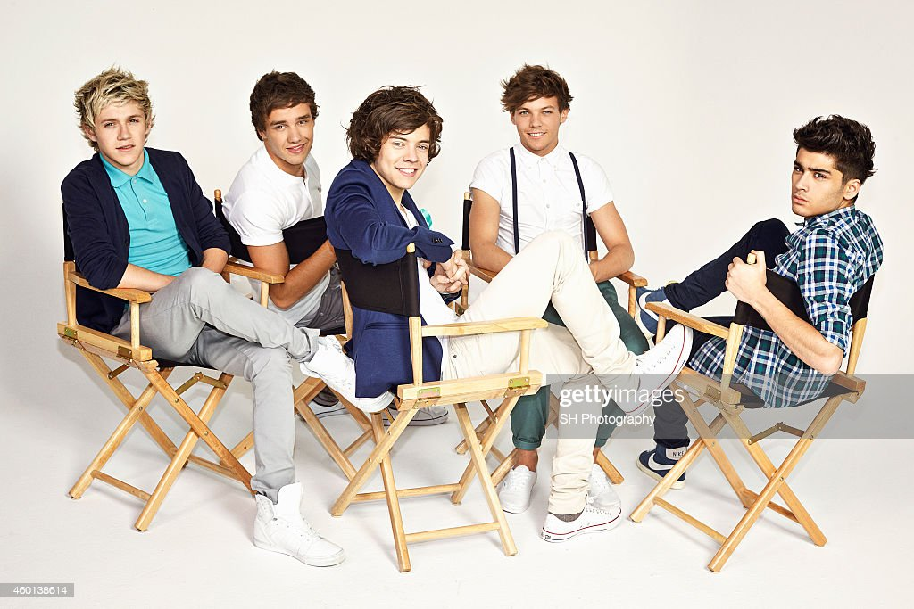 Pop band One Direction are photographed on May 9, 2012 in London, England.