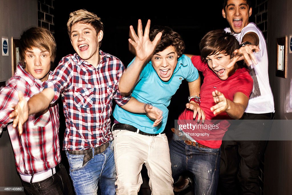 Pop band One Direction are photographed on September 13, 2010 in London, England.