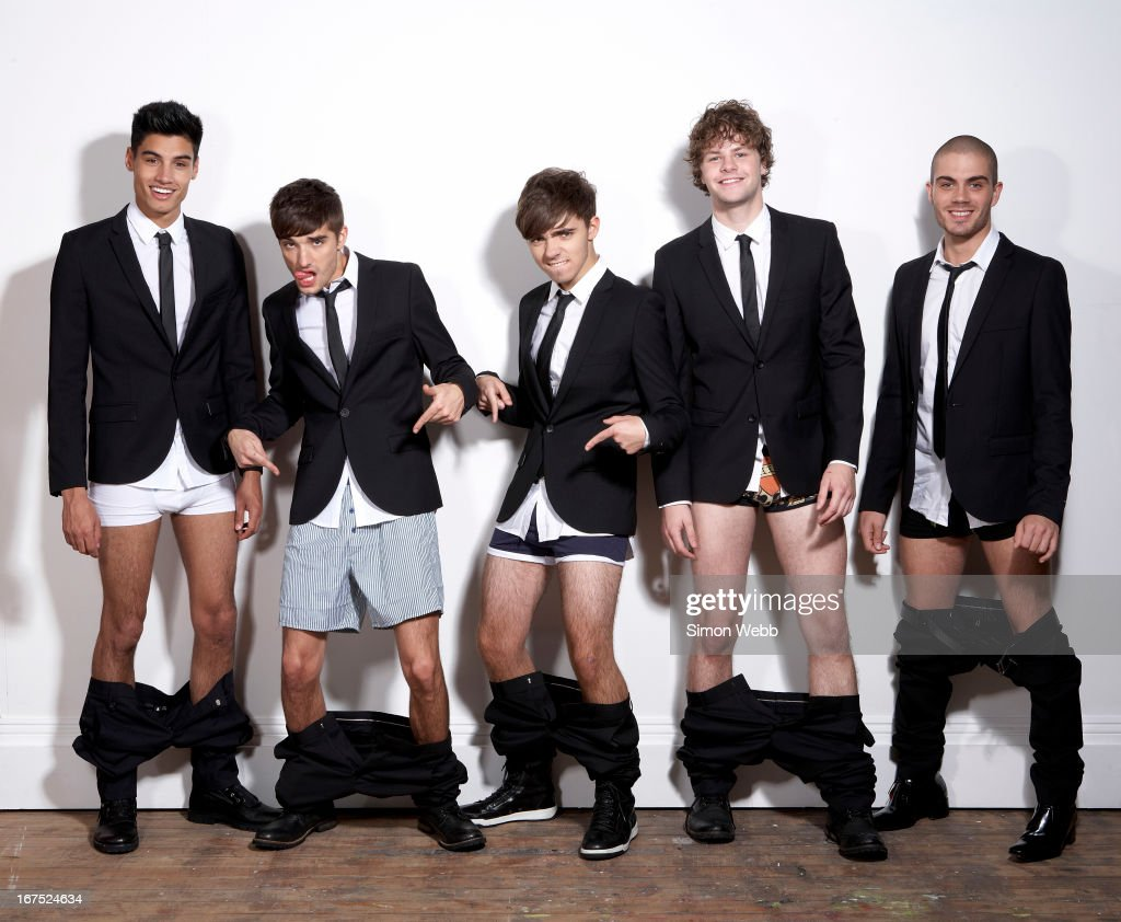 Pop band The Wanted are photographed for We Love Pop magazine on November 4, 2011 in London, England.