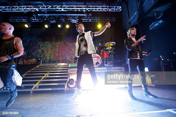 Pop band The Wanted perform at the Sound Academy in Toronto Canada