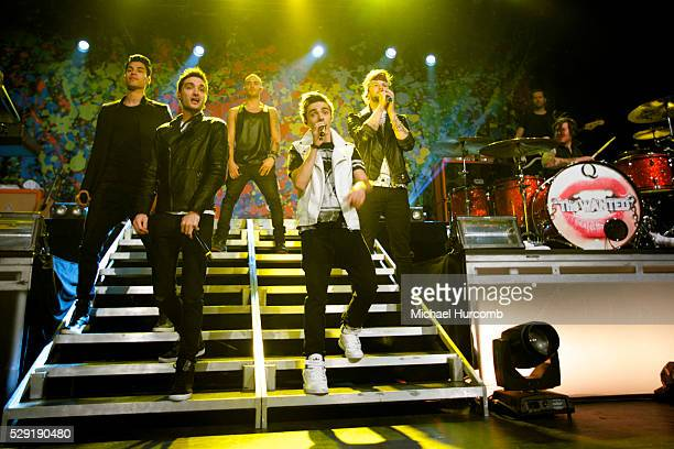Pop band The Wanted performs at the Sound Academy in Toronto Canada