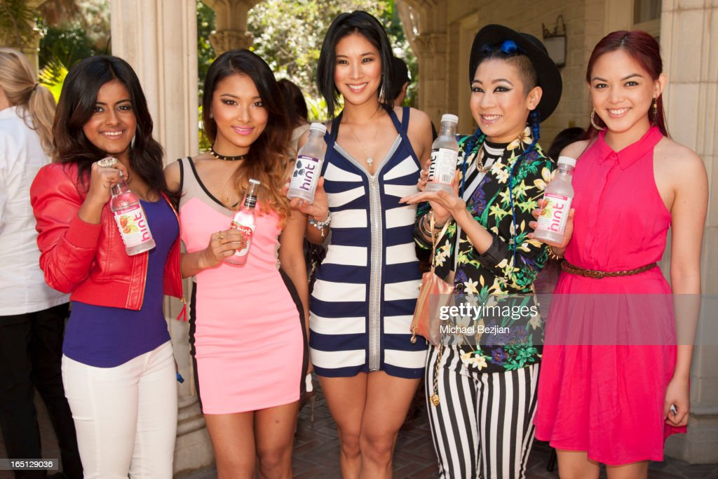 Pop group Blush attends Posing Heroes, 'A Dog Day Afternoon' Benefiting A Wish For Animals on March 30, 2013 in Los Angeles, California.