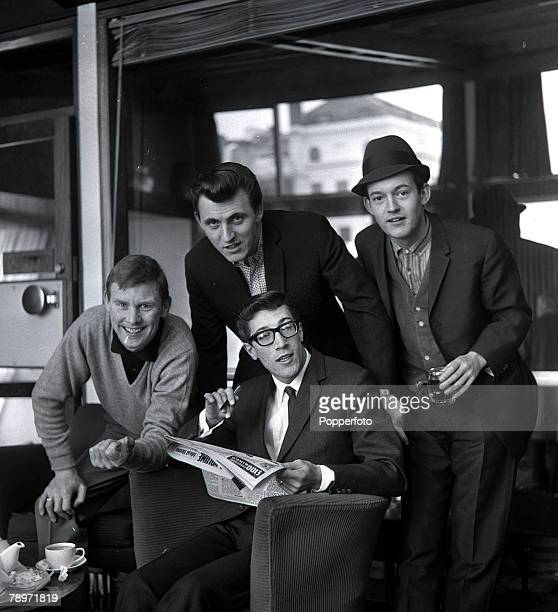 Pop Group The Shadows including Hank Marvin backing group to Cliff Richard 1963