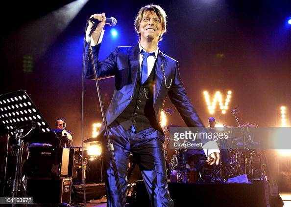 Pop Legend David Bowie In Concert At The Hammersmith Appollo In London Pic Shows David Bowie
