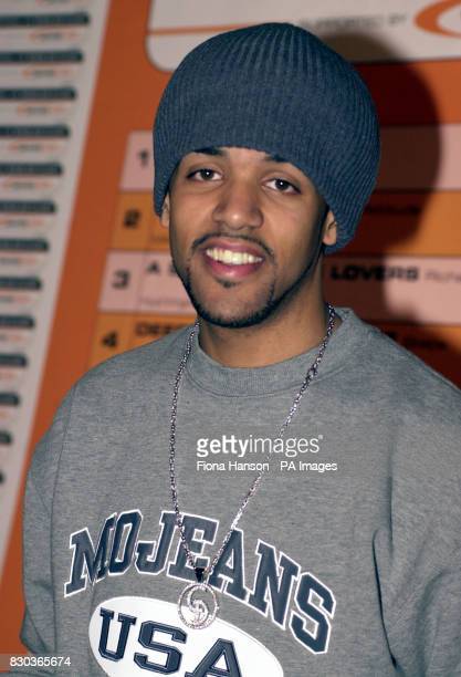 Pop singer Craig David whose song 'Fill Me In' is the current number one record in the UK top forty singles chart during the launch of Worldpop's...