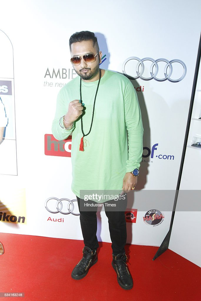 Pop singer Honey Singh at Hindustan Times Most Stylish Awards 2016 at hotel JW Marriot, Aerocity on May 24, 2016 in New Delhi, India.