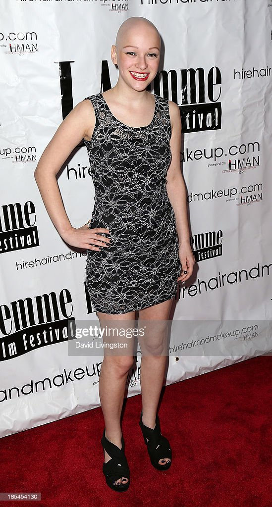 Pop singer Joelle attends the 9th Annual LA Femme International Film Festival Awards Gala and Show at the Renberg Theatre on October 20, 2013 in Los Angeles, California.