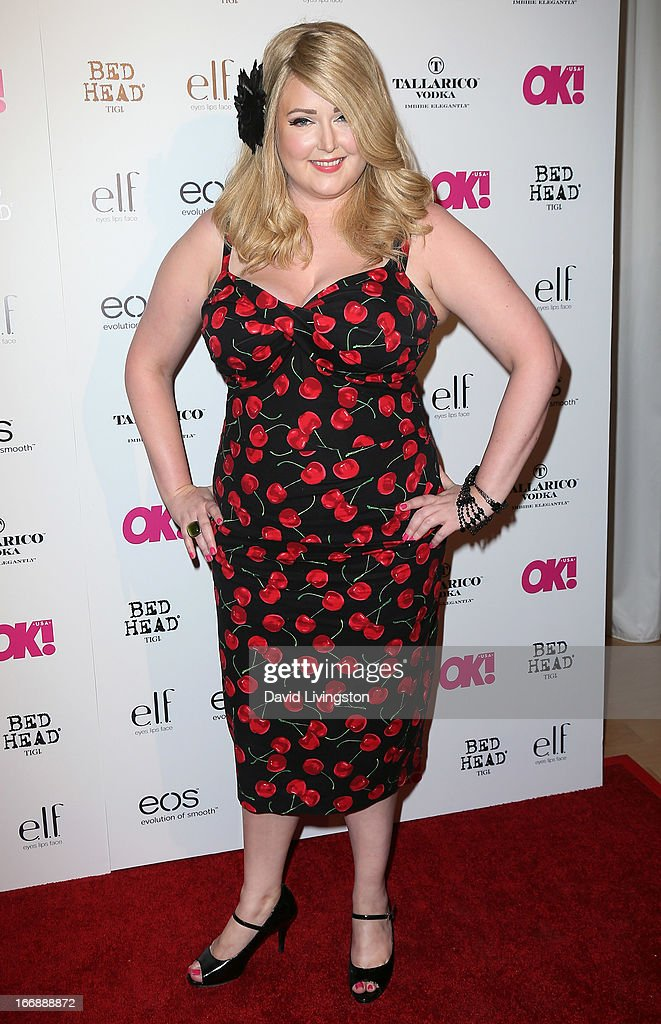 Pop singer Katrina Parker attends the OK! Magazine 'So Sexy' LA party at SkyBar at the Mondrian Los Angeles on April 17, 2013 in West Hollywood, California.