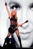 US pop singer Madonna performs on stage during her 'Sticky and Sweet' tour concert in Bucharest on August 26 2009 AFP PHOTO DANIEL MIHAILESCU