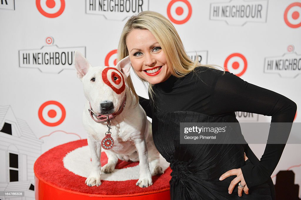 Pop Singer Mitsou Gelinas attends the opening of Target At Shoppers World Danforth on March 27, 2013 in Toronto, Canada.