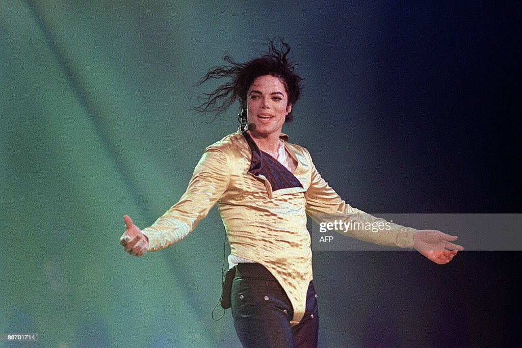 US pop star and entertainer Michael Jackson preforms before an estimated audience of 60000 in Brunei on July 16 1996 Michael Jackson died on June 25...