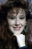 Pop star Tiffany poses for a portrait in 1987