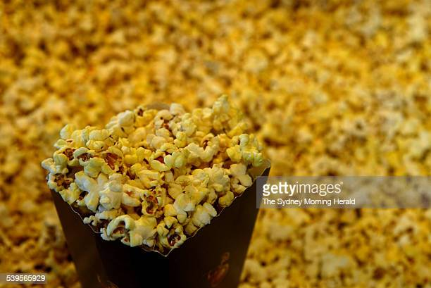 Popcorn for sale at a cinema on 10 March 2005 SMH NEWS Picture by STEVEN SIEWERT