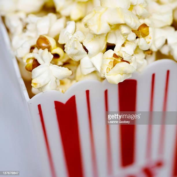 Popcorn in movie theater box