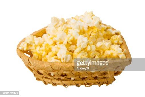 Palomitas de maíz : Foto de stock