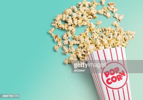 Popcorn. : Stock-Foto