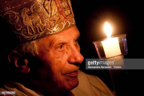 Pope Benedict XVI Celebrates Easter Vigil Mass in St Peter's Basilica at the Vatican