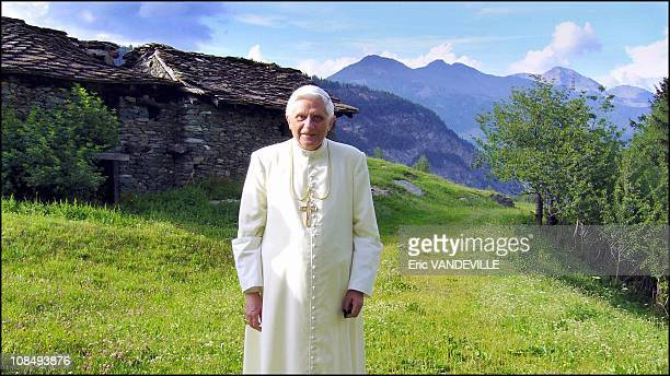 Pope Benedict XVI is in the Italian Alps for a mountain holiday in the secluded chalet built for his predecessor John Paul II The 78yearold pontiff...