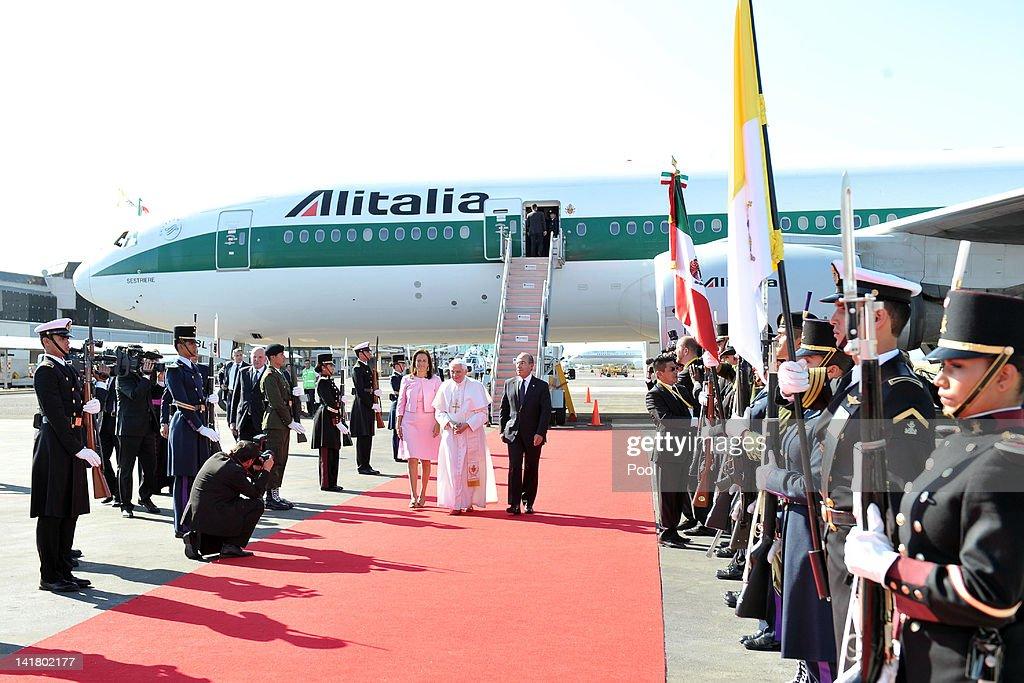Pope Benedict XVI Visits Mexico