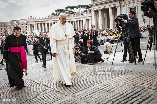 Pope Francis attends Weekly General Audience in St Peter's Square in Vatican City The selfinflicted wounds of the family and the need to put aside...