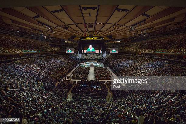 Marvelous New York Madison Square Garden Stock Photos And Pictures  Getty  With Lovely Pope Francis Celebrates Mass At Madison Square Garden In New York With Alluring Landscape Gardening Nottingham Also Best Tree For Small Garden In Addition Minion Garden Gnome And Quinta Das Vistas Palace Gardens As Well As Garden Furniture Wrought Iron Additionally Sensory Gardens For The Blind From Gettyimagescom With   Lovely New York Madison Square Garden Stock Photos And Pictures  Getty  With Alluring Pope Francis Celebrates Mass At Madison Square Garden In New York And Marvelous Landscape Gardening Nottingham Also Best Tree For Small Garden In Addition Minion Garden Gnome From Gettyimagescom