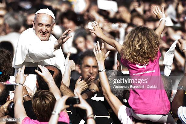 Pope Francis Leads Pentecost Vigil at St Peter's Square at the Vatican