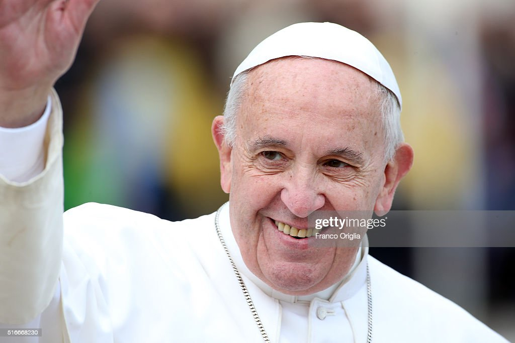 <a gi-track='captionPersonalityLinkClicked' href=/galleries/search?phrase=Pope+Francis&family=editorial&specificpeople=2499404 ng-click='$event.stopPropagation()'>Pope Francis</a> leads the Palm Sunday Mass at St. Peter's Square on March 20, 2016 in Vatican City, Vatican. <a gi-track='captionPersonalityLinkClicked' href=/galleries/search?phrase=Pope+Francis&family=editorial&specificpeople=2499404 ng-click='$event.stopPropagation()'>Pope Francis</a> on Sunday presided at the Procession and Mass for Palm Sunday, as the Church enters into the celebration of Holy Week. Palm Sunday commemorates the triumphal entry of Jesus into Jerusalem one week before His Passion, Death, and Resurrection.
