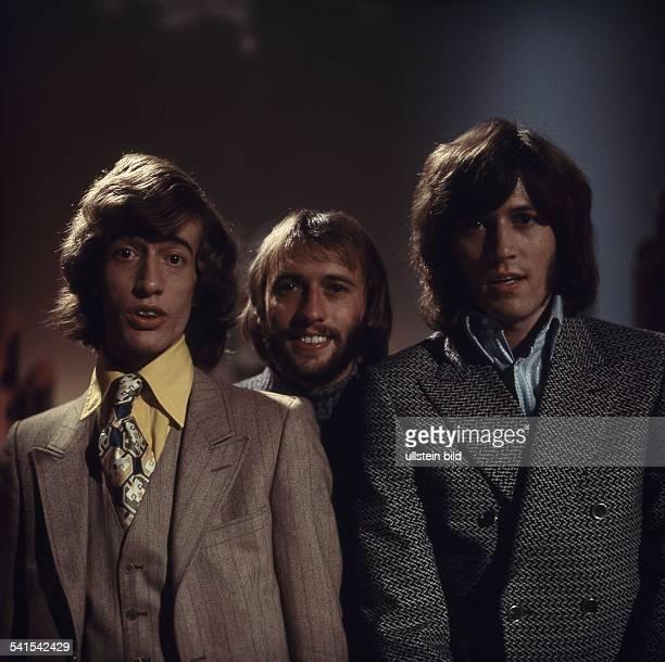 Popgruppe Australien / Grossbritannien Maurice Barry und Robin Gibb 1970