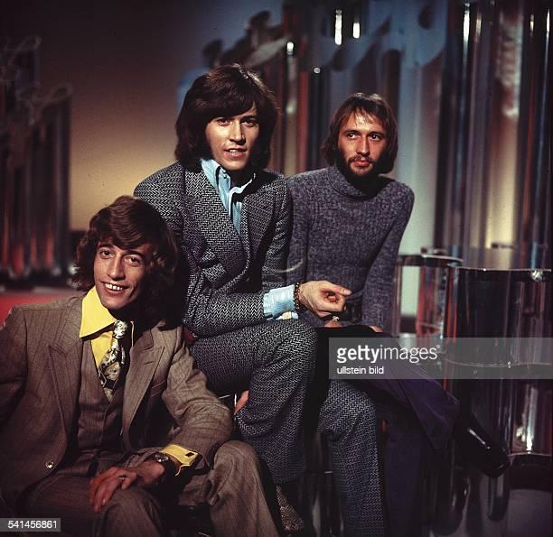 Popgruppe Australien / Grossbritannien Maurice Robin und Barry Gibb 1970