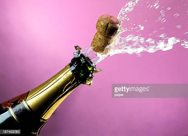 Attirez bouchon de champagne