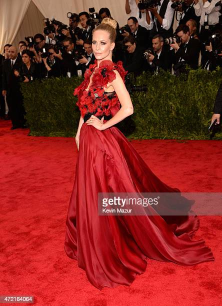 Poppy Delevigne attends the 'China Through The Looking Glass' Costume Institute Benefit Gala at Metropolitan Museum of Art on May 4 2015 in New York...