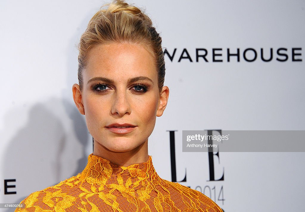 Poppy Delevinge attends the Elle Style Awards 2014 at one Embankment on February 18, 2014 in London, England.