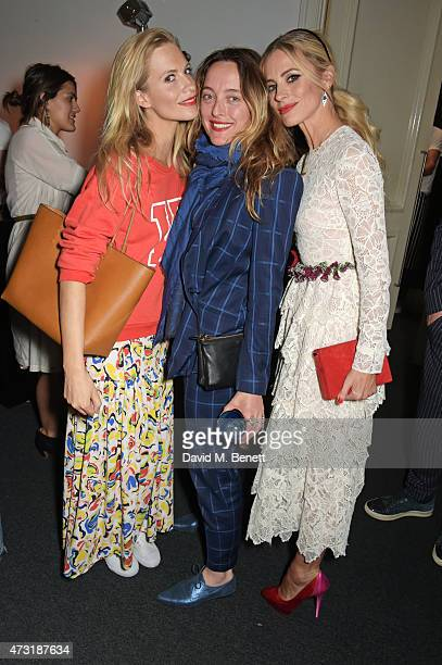 Poppy Delevingne Alice Temperley and Laura Bailey attend The NET SET powered by NETAPORTERCOM launch party on May 13 2015 in London England