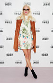 Poppy Delevingne arrives at the Topshop Unique show during London Fashion Week SS16 at The Queen Elizabeth II Conference Centre on September 20 2015...