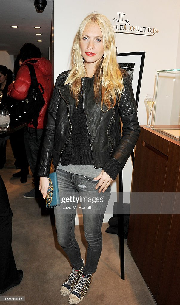 Poppy Delevingne attends a private viewing of 'Gaucho', a photographic exhibition by Astrid Munoz, at the Jaeger-LeCoultre Boutique on January 31, 2012 in London, England.