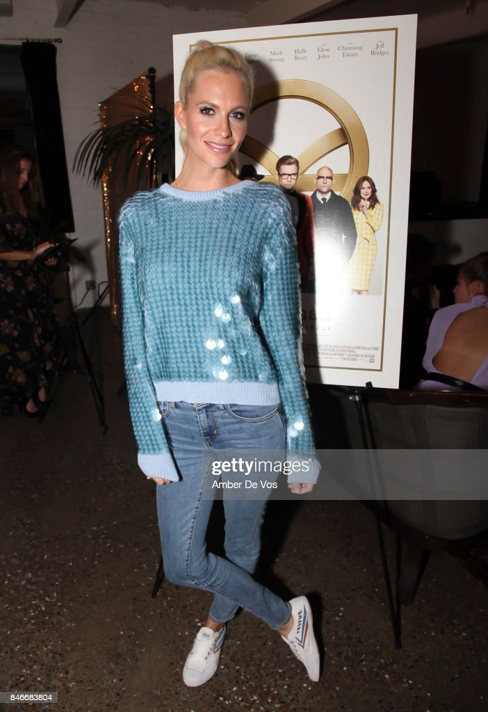 Poppy Delevingne attends a special screening of the new film 'Kingsman The Golden Circle' at Metrograph on September 13, 2017 in New York City.