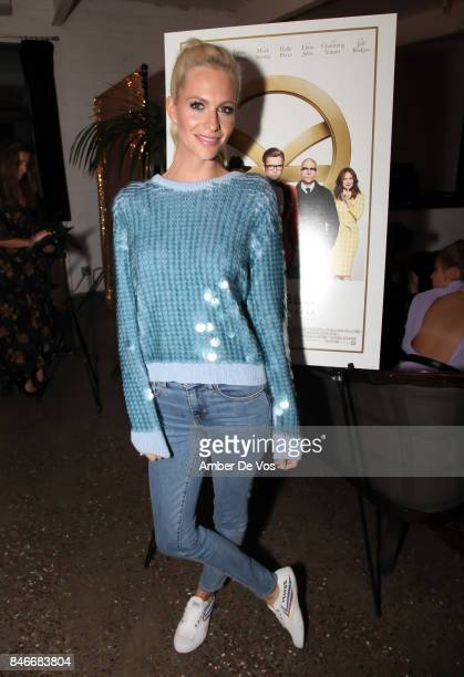 Poppy Delevingne attends a special screening of the new film 'Kingsman The Golden Circle' at Metrograph on September 13 2017 in New York City