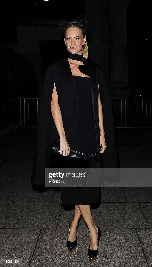 <a gi-track='captionPersonalityLinkClicked' href=/galleries/search?phrase=Poppy+Delevingne&family=editorial&specificpeople=2348985 ng-click='$event.stopPropagation()'>Poppy Delevingne</a> attends an evening to celebrate The Global Fund hosted by the Earl and Countess of Mornington, Anna Wintour, Livia Firth and Natalie Massenet at Apsley House on September 16, 2013 in London, England.