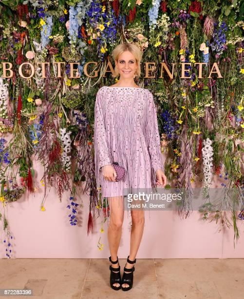 Poppy Delevingne attends Bottega Veneta's 'The Hand of the Artisan Cocktail Dinner' at Chiswick House And Gardens on November 9 2017 in London England