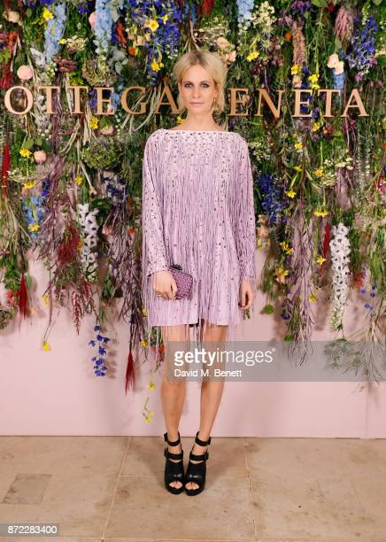 Poppy Delevingne attends Bottega Veneta's 'The Hand of the Artisan Cocktail Dinner' at Chiswick House And Gardens on November 9 2017 in London England