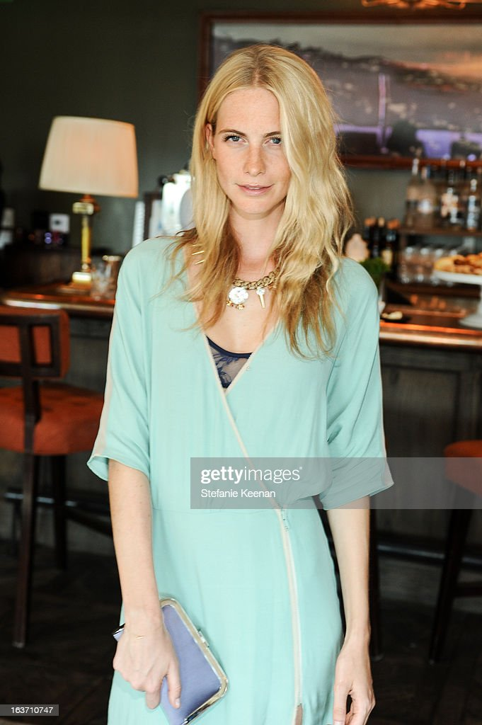 Poppy Delevingne attends L.K. Bennett Tea Luncheon on March 14, 2013 in West Hollywood, California.