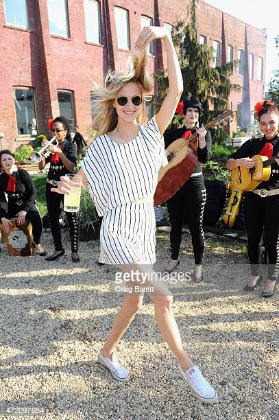Poppy Delevingne attends Pioneer Works 2nd Annual Village Fete presented by BOMBAY SAPPHIRE GIN at Pioneer Works Center for Art Innovation on May 3...