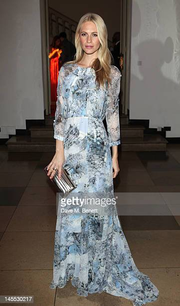 Poppy Delevingne attends The 2012 NSPCC Pop Art Ball co hosted by Natalia Vodianova and Stella McCartney in aid of the NSPCC's Rebuilding Childhoods...