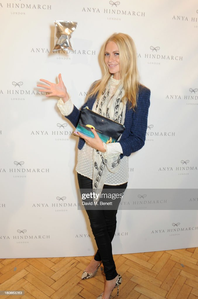 Poppy Delevingne attends the Anya Hindmarch presentation during London Fashion Week SS14 at Central Hall Westminster on September 17, 2013 in London, England.