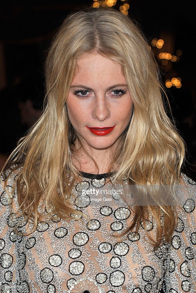 Poppy Delevingne attends the ASMALLWORLD Gala Dinner for Alzheimer Society at the Gstaad Palace Hotel on December 15, 2012 in Gstaad, Switzerland.