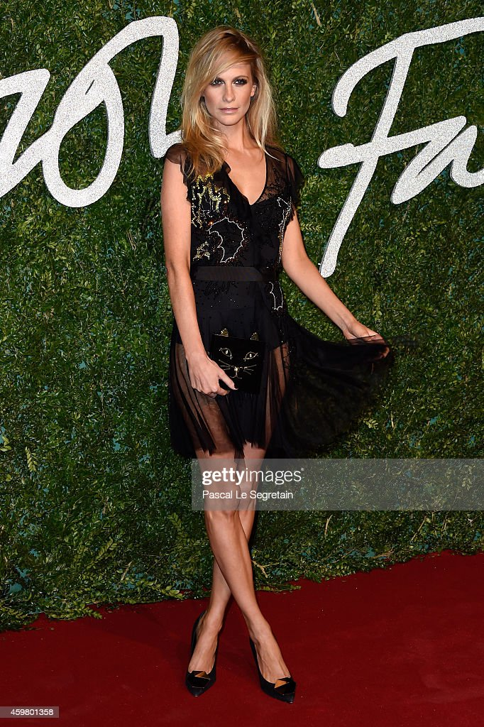 Poppy Delevingne attends the British Fashion Awards at London Coliseum on December 1 2014 in London England